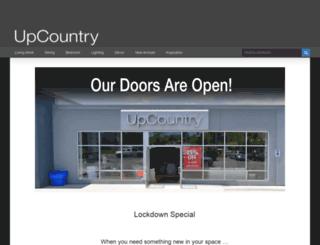 upcountry.com screenshot