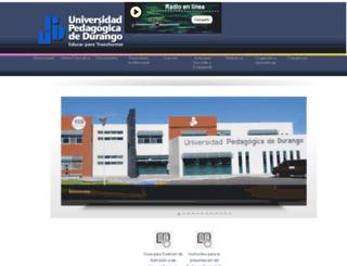 upd.edu.mx screenshot