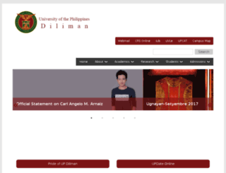 upd.edu.ph screenshot