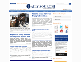 update.dailysource.org screenshot