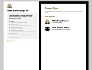 update.publicisgroupe.net screenshot