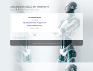 updates-nod32.blogspot.com screenshot