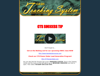 updates.cashtrackingsystem.com screenshot