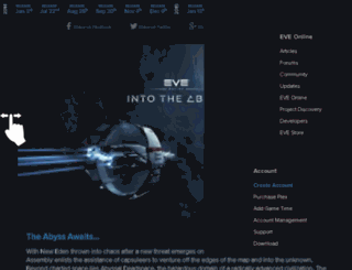 updates.eve-online.com screenshot