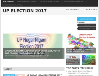 upelection2017.in screenshot