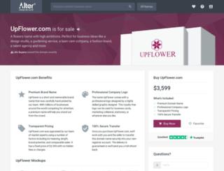 upflower.com screenshot