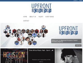 upfrontbookings.com.ng screenshot