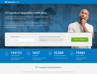 upgrade.gfi.com screenshot