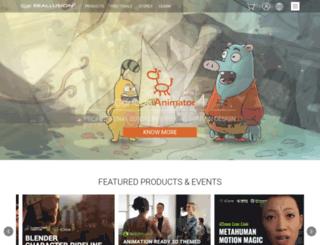 upgrade.reallusion.com screenshot