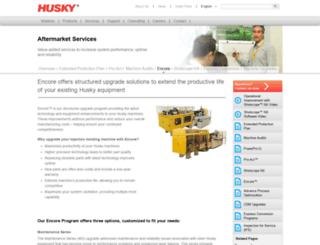 upgrades.husky.ca screenshot