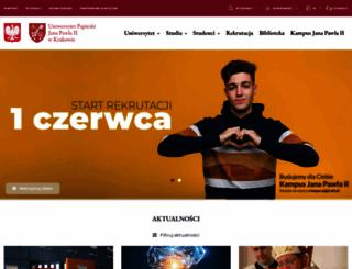 upjp2.edu.pl screenshot
