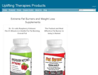 upliftingtherapiesproducts.com screenshot