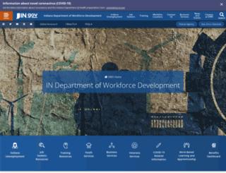uplink.in.gov screenshot
