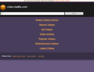 uploadconstr.video-battle.com screenshot