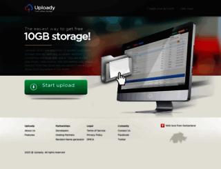 uploady.com screenshot