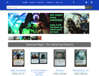 upnorthgames.crystalcommerce.com screenshot
