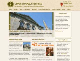 upperchapelsheffield.org.uk screenshot