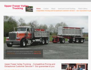 upperfraservalleytrucking.com screenshot