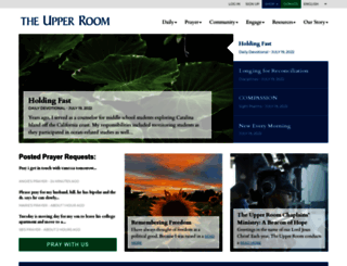 upperroom.org screenshot