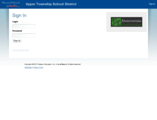 upperschools.ecollege.com screenshot