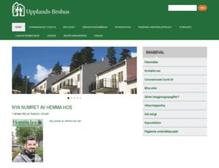 upplands-brohus.se screenshot