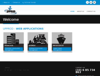 upprod.com screenshot