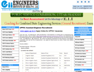uppscrecruitment.engineersinstitute.com screenshot