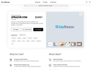 uprazor.com screenshot
