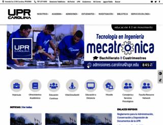 uprc.edu screenshot