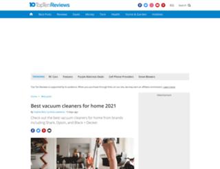 upright-vacuum-cleaner-review.toptenreviews.com screenshot
