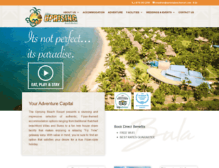 uprisingbeachresort.com screenshot