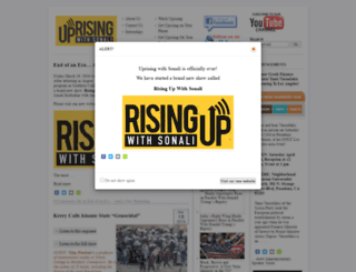 uprisingradio.org screenshot