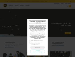 ups.no screenshot