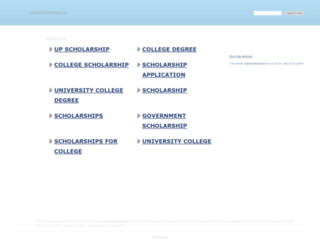 upscholarships.in screenshot