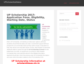 upscholarshipstatus.org screenshot