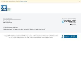upside.chargesmart.com screenshot