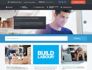 upskilllearning.com.au screenshot