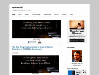 upstarthr.com screenshot