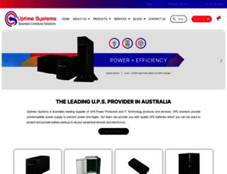 upstechnology.com.au screenshot