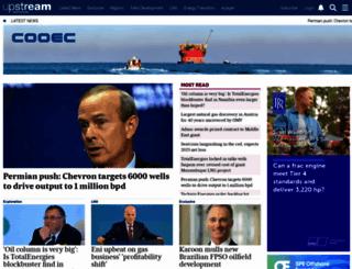 upstreamonline.com screenshot