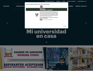 upt.edu.mx screenshot