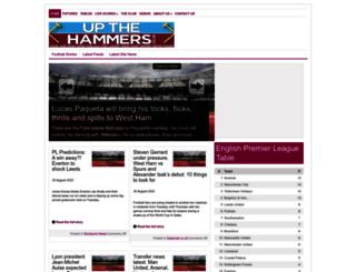 upthehammers.co.uk screenshot