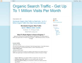 upto1millionvisits.blogspot.com screenshot