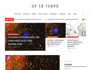 uptotempo.com screenshot