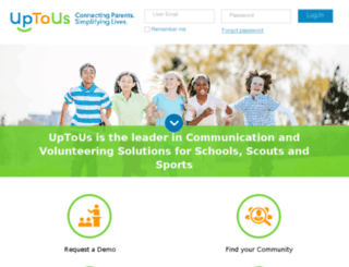 uptous.com screenshot