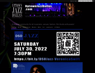 uptownjazzdallas.com screenshot