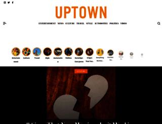 uptownmagazine.com screenshot