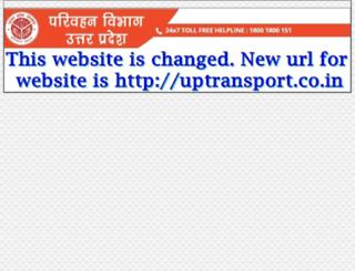 uptransport.org screenshot