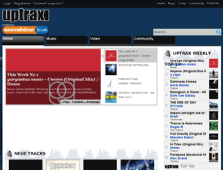 uptrax.com screenshot