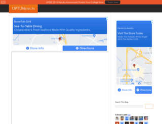 uptunews.in screenshot
